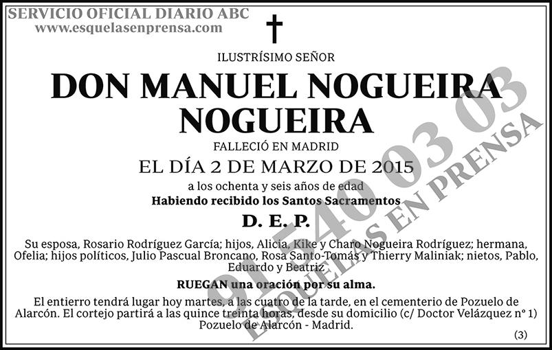 Manuel Nogueira Nogueira
